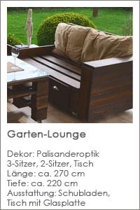 Projekt Garten-Lounge