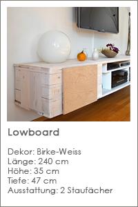 Projekt Lowboard
